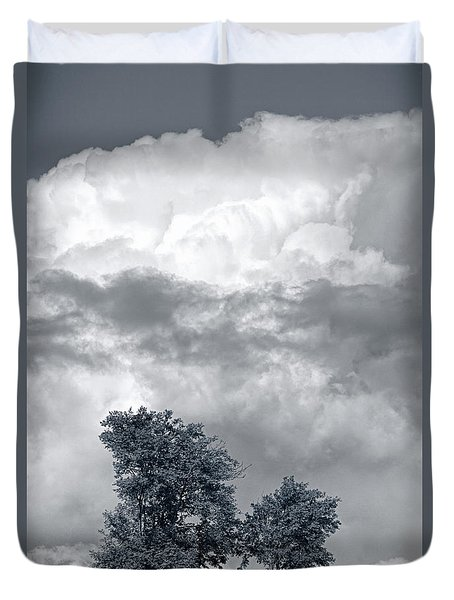 Two Trees #9249 Duvet Cover by Andrey Godyaykin