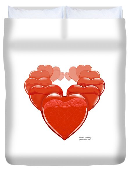 Two Will Become One Duvet Cover by Thomas J Herring