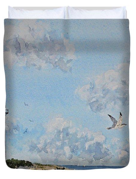 Tybee Light Savannah Duvet Cover