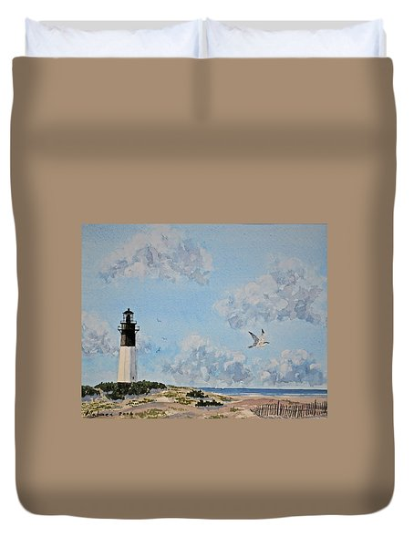 Tybee Light Savannah Duvet Cover