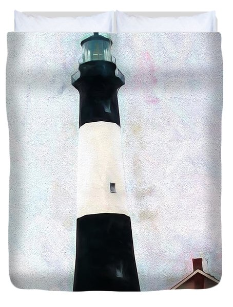 Tybee Lighthouse - Coastal Duvet Cover