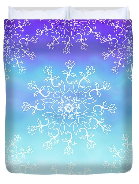 Tye Dye And Lace Duvet Cover