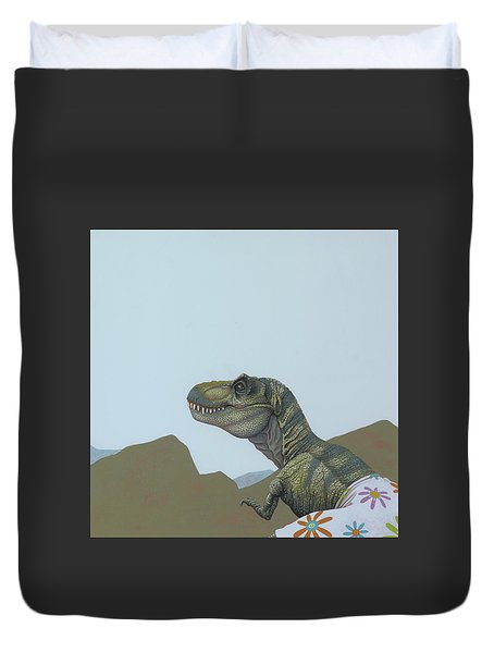 Tyranosaurus Rex Duvet Cover