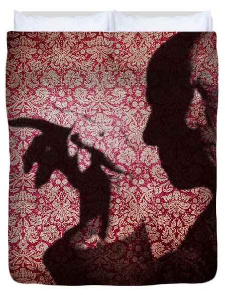 U N Me  Duvet Cover by Jerry Cordeiro