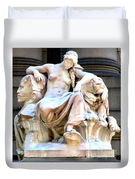 U S Custom House 3 Duvet Cover