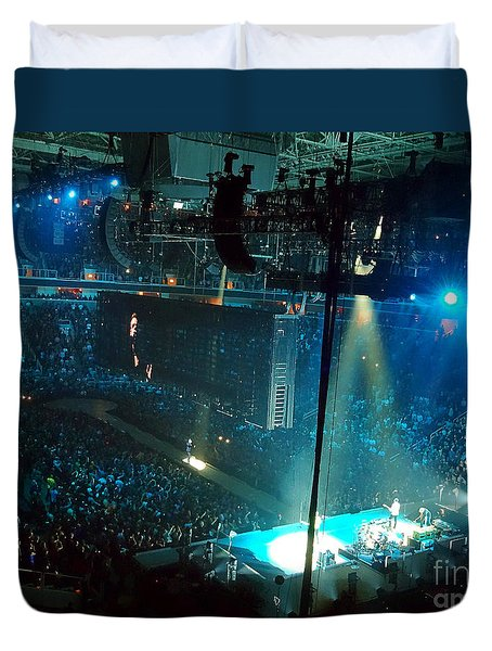 U2 Innocence And Experience Tour 2015 Opening At San Jose. 1 Duvet Cover