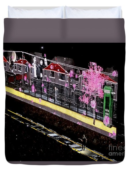 U2 Innocence And Experience Tour 2015 Opening At San Jose. 3 Duvet Cover
