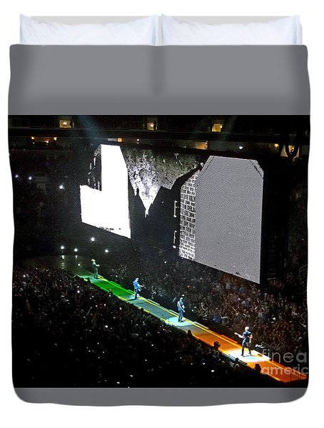 U2 Innocence And Experience Tour 2015 Opening At San Jose. 4 Duvet Cover