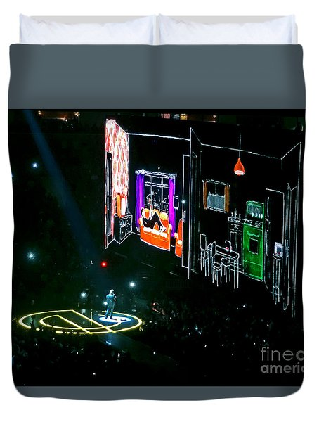 U2 Innocence And Experience Tour 2015 Opening At San Jose. 5 Duvet Cover