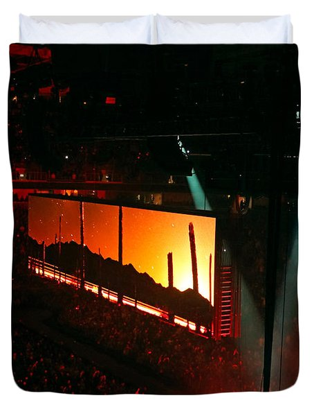 U2 Innocence And Experience Tour 2015 Opening At San Jose. 7 Duvet Cover