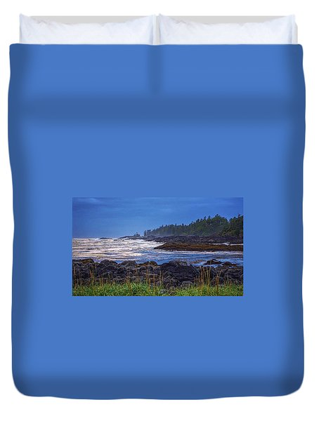 Ucluelet, British Columbia Duvet Cover