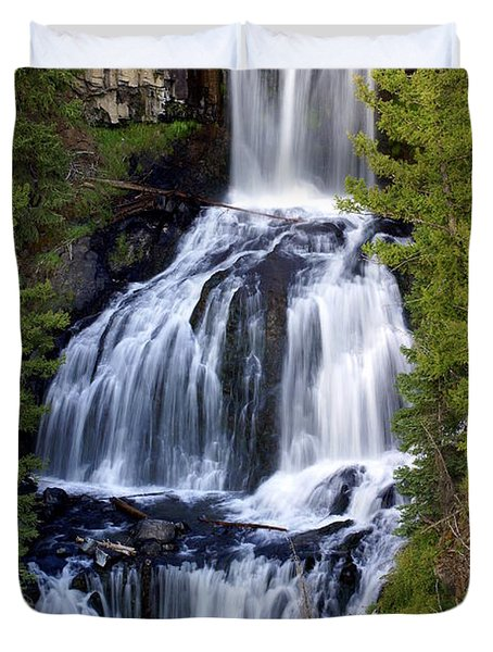 Udine Falls Duvet Cover by Marty Koch