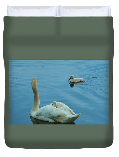 Ugly Ducklings Duvet Cover