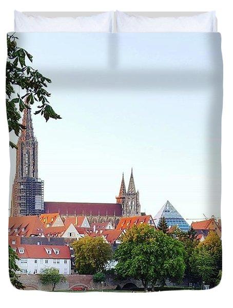 Ulm Minster Duvet Cover