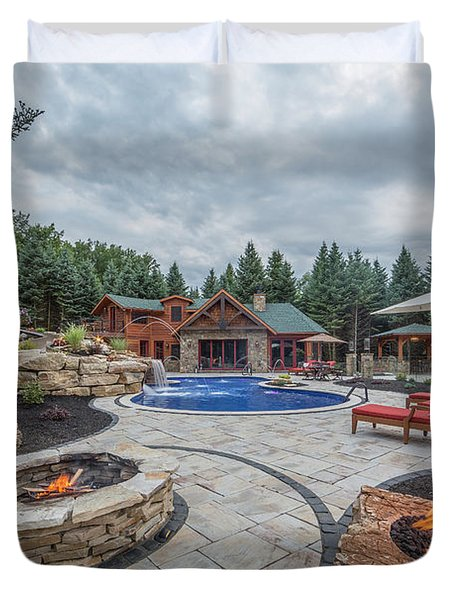 Ultimate Backyard Duvet Cover