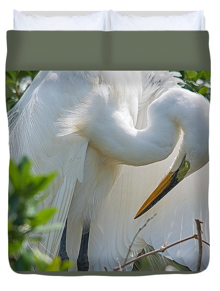 Ultimate Grace Duvet Cover by Kenneth Albin