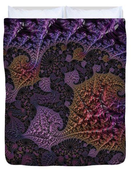 Ultra Leaf 1 Duvet Cover
