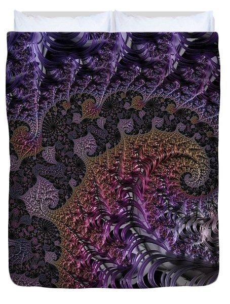 Ultra Leaf Spiral Duvet Cover