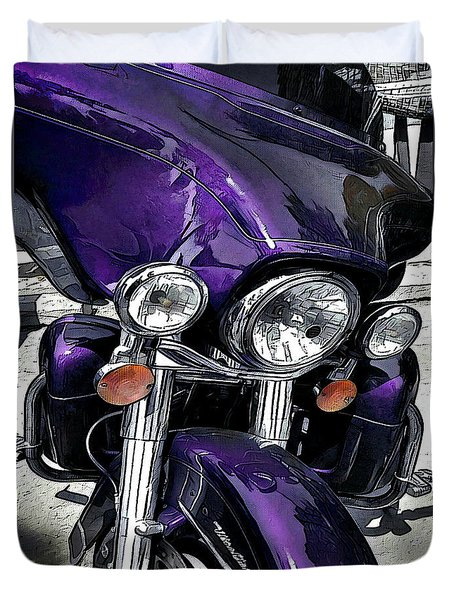 Ultra Purple Duvet Cover