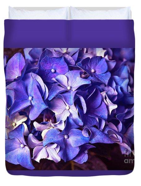 Ultra Violet Dance Duvet Cover
