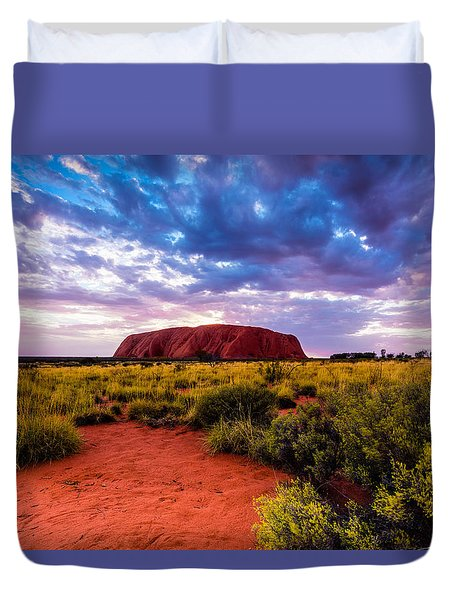 Uluru Duvet Cover