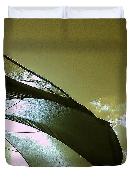 Umbrella Sky Duvet Cover