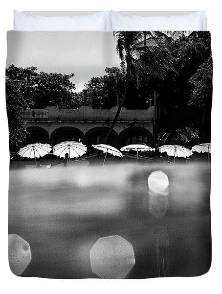 Umbrellas 2 Duvet Cover