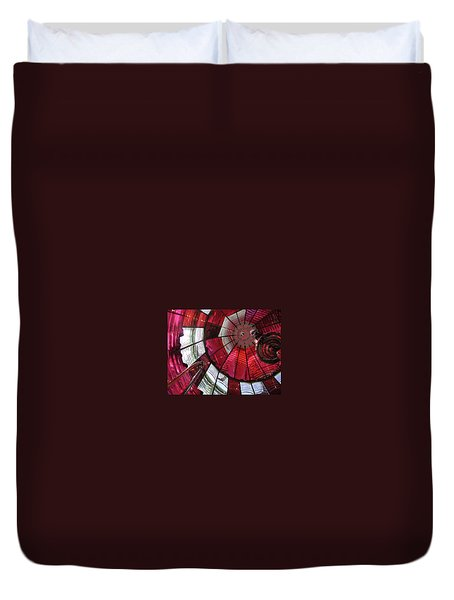 Umpqua River Red Duvet Cover