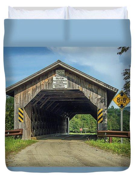Un-named Bridge Duvet Cover