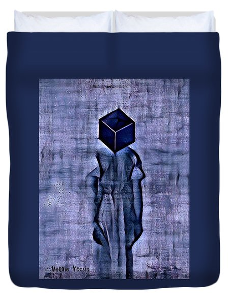 Unacknowledged Duvet Cover by Vennie Kocsis