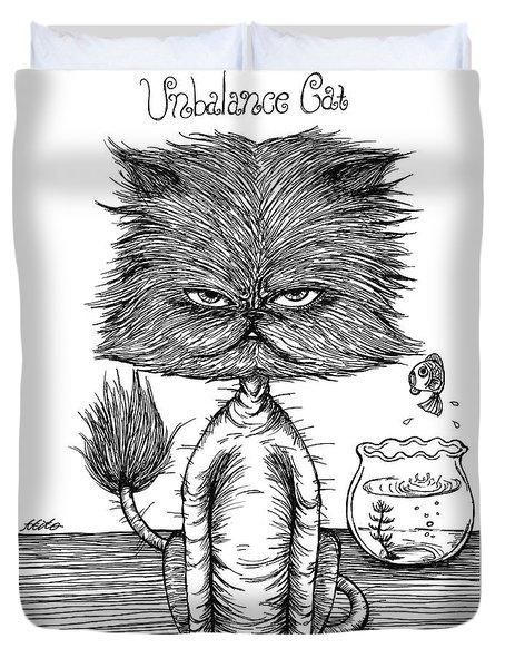 Unbalance Cat Duvet Cover