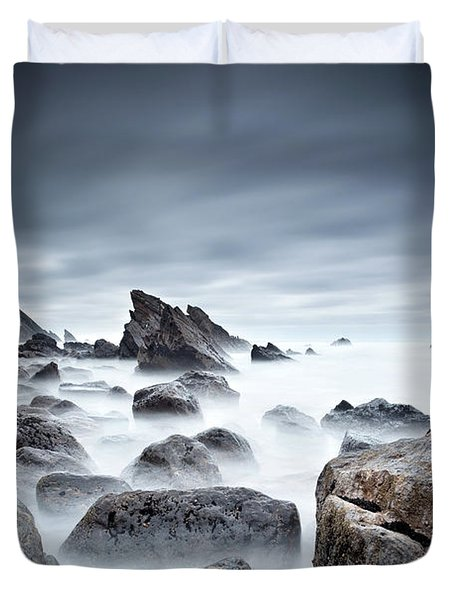 Unbreakable Duvet Cover by Jorge Maia