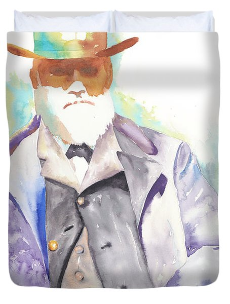 Uncle David Nation, Circa 1900 Duvet Cover