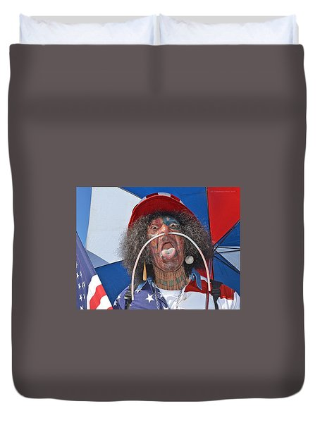 Uncle Sam Duvet Cover