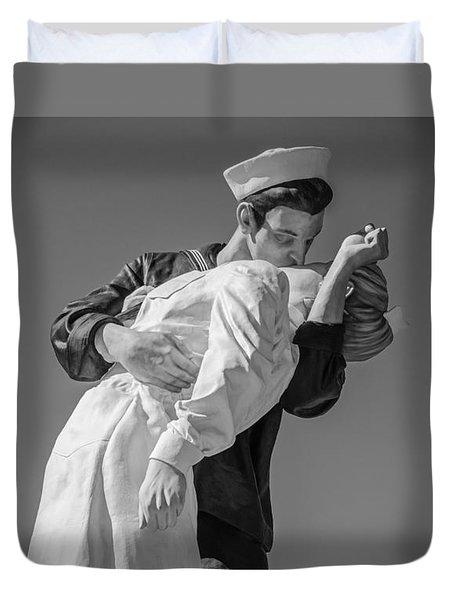 Unconditional Surrender 3 Duvet Cover by Susan  McMenamin