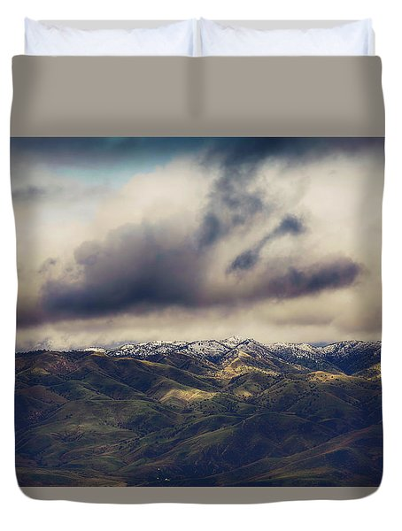 Duvet Cover featuring the photograph Undeniable by Laurie Search