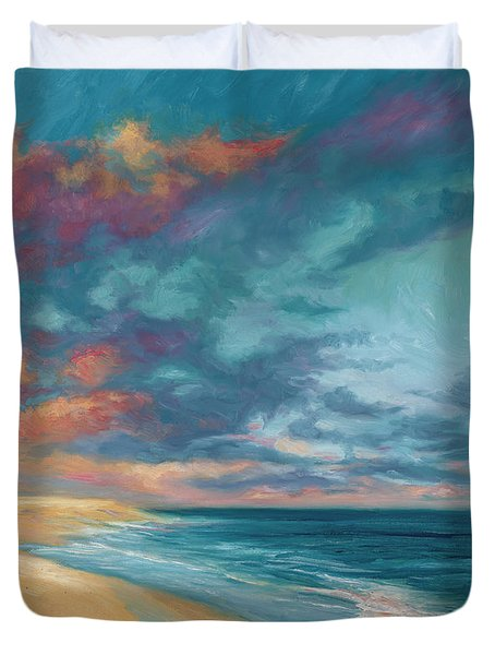 Under A Painted Sky Duvet Cover