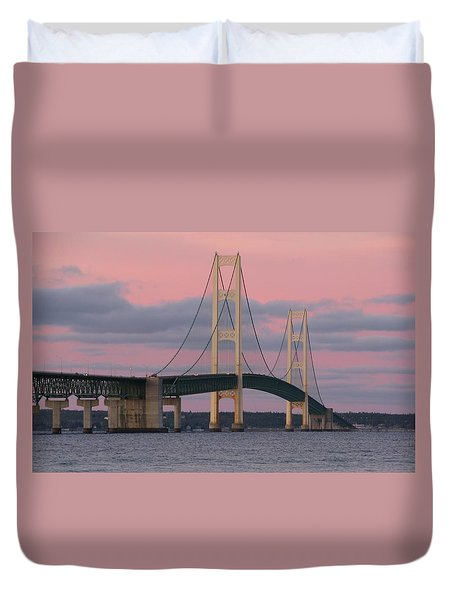 Under A Rose Colored Sky Duvet Cover