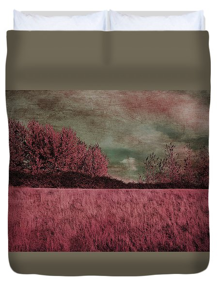 Under A Stormy Sky Duvet Cover