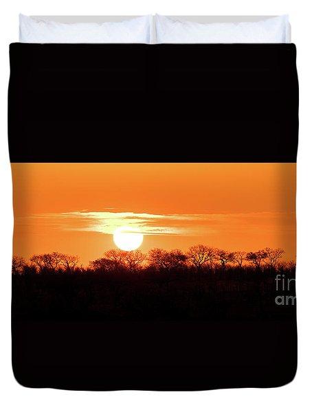 Under African Skies Duvet Cover