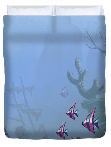 Under Sea 01 Duvet Cover