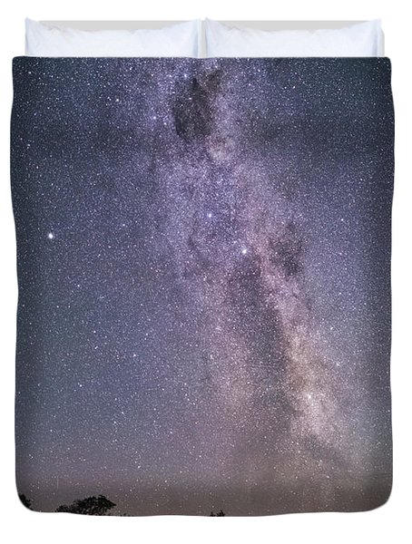 Under Southern Stars Duvet Cover