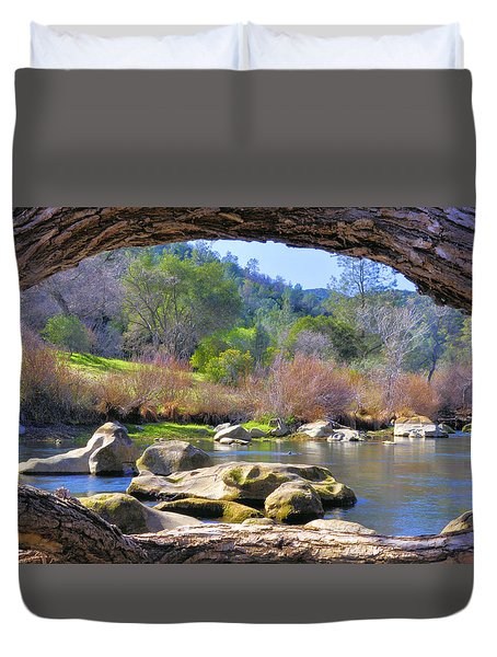 Under The Arch Duvet Cover