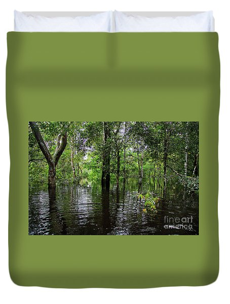 Under The Jungle Canopy Duvet Cover