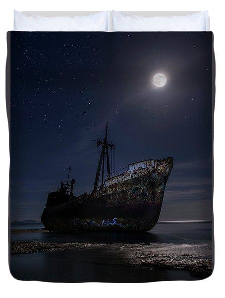 Under The Moonlight Duvet Cover