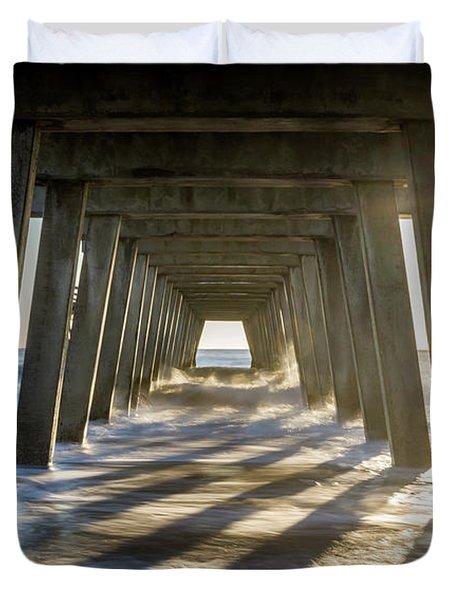 Under The Pier #2 Duvet Cover