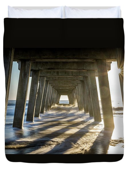 Under The Pier #2 Duvet Cover