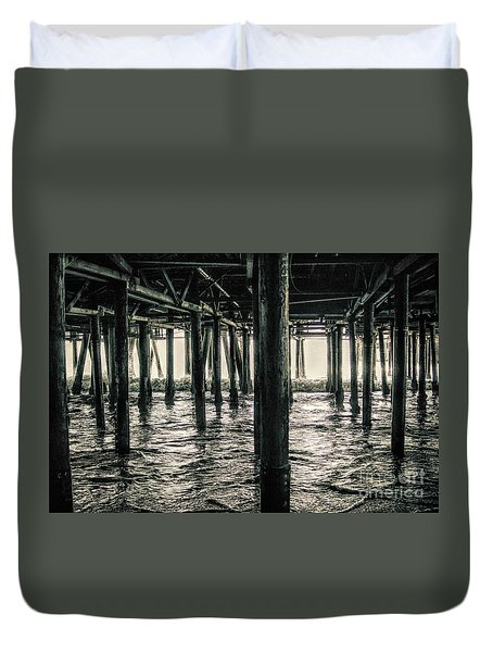 Under The Pier 3 Duvet Cover