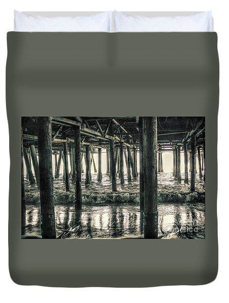 Under The Pier 5 Duvet Cover