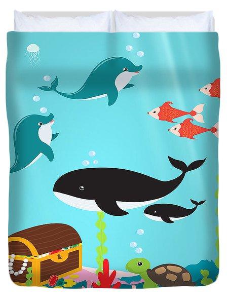 Under The Sea-jp2988 Duvet Cover